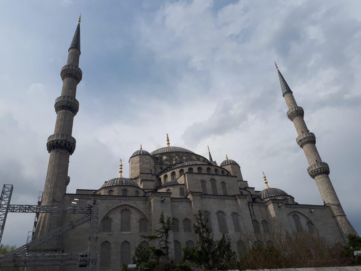 Masjid Biru. Foto: Haris Kurniawan/Merdeka.com