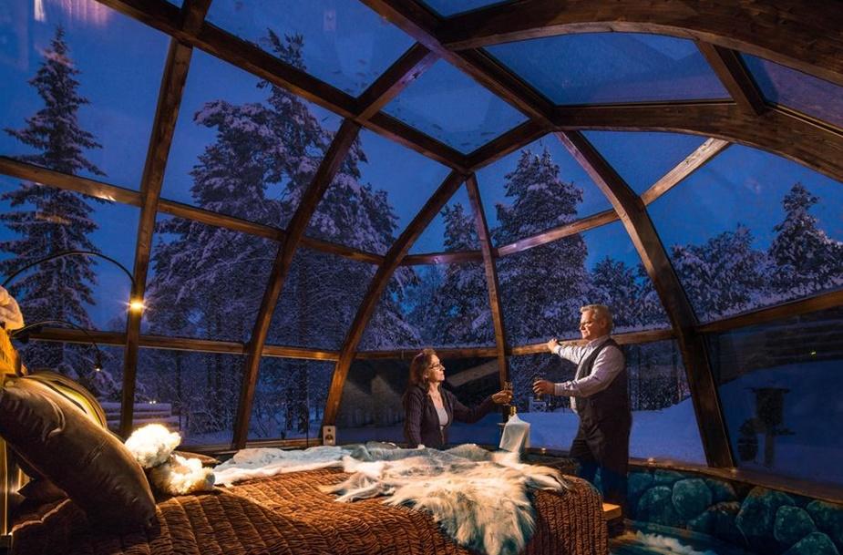 glass igloo house 2