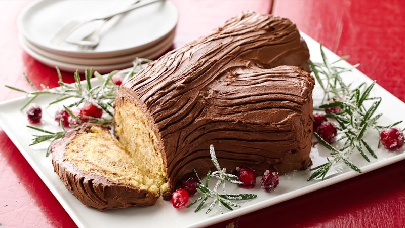 yule log (bettycrocker.com)