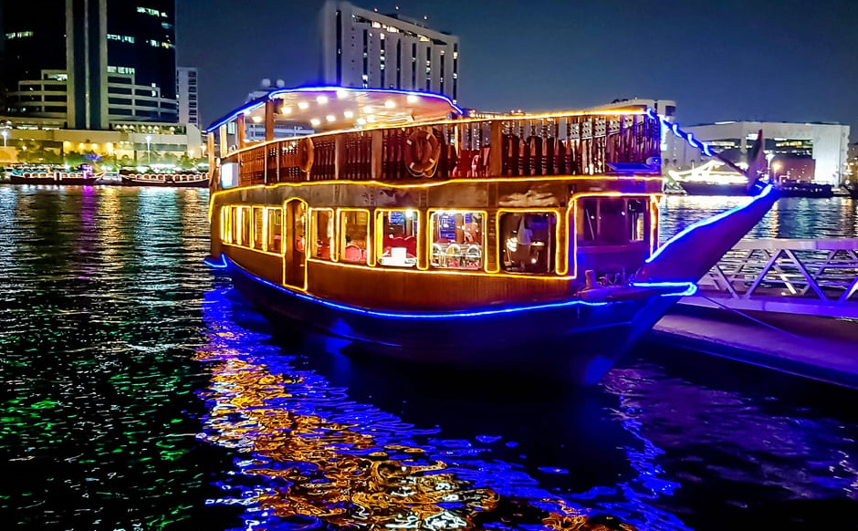 Dhow Creek Dinner Cruise