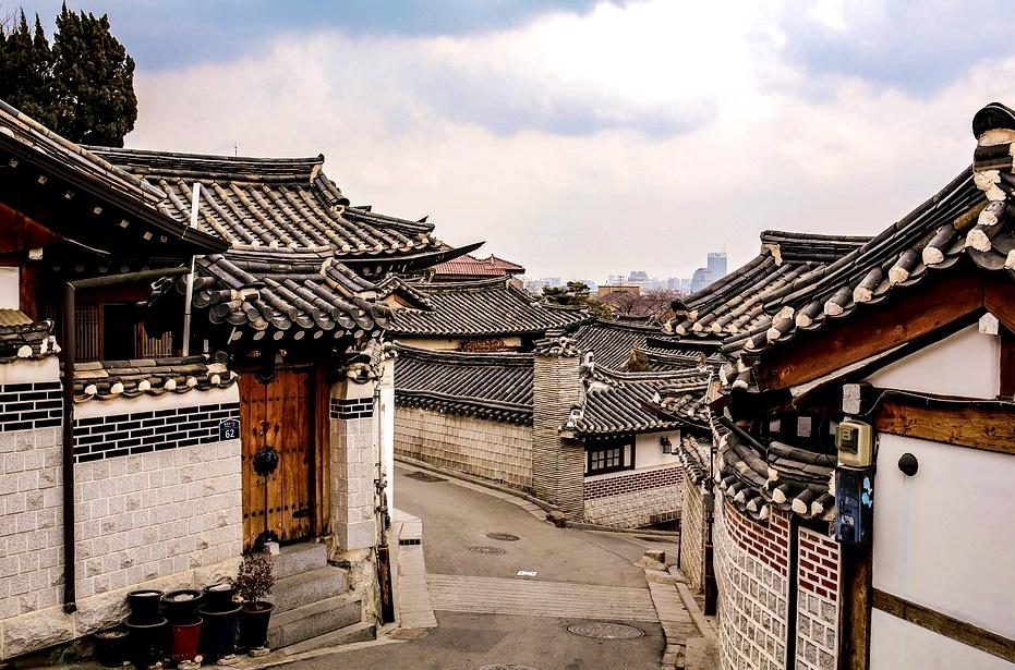 bukcheon hanok village