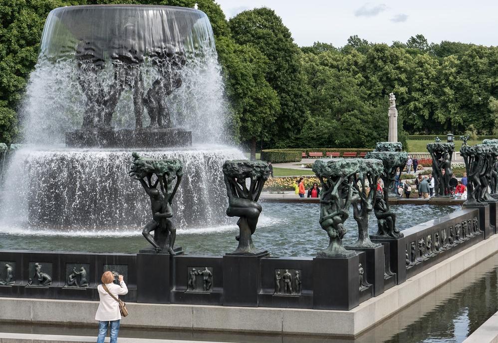 Vigelandsparken, skulptur